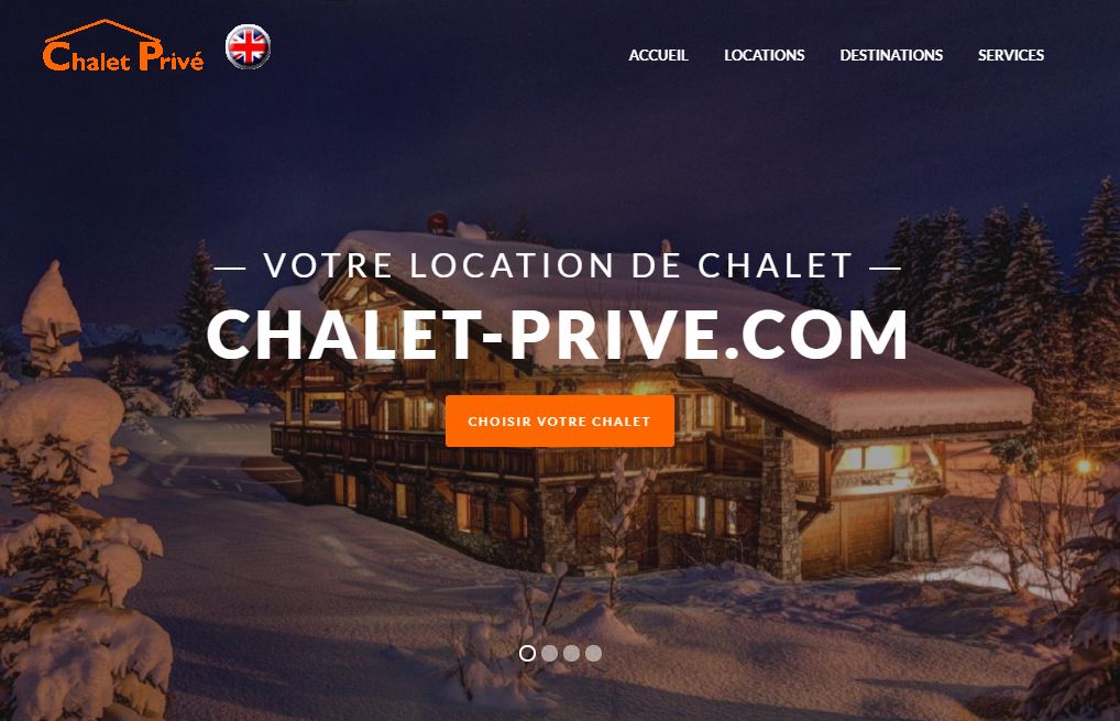 location chalet prive